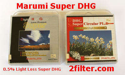 Marumi Super DHG filters