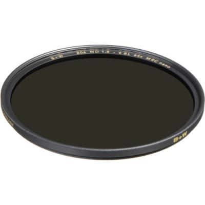 B+W 49mm XS-Pro MRC-Nano 806M ND 1.8 (6-Stop) Filter