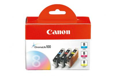 Canon CLI-8 3 Ink Value Pack