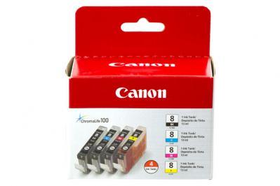 Canon CLI-8 4 Ink Value Pack