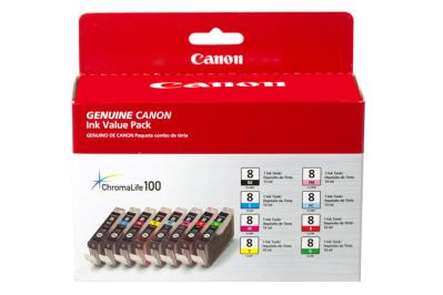 Canon CLI-8 8 Ink Value Pack