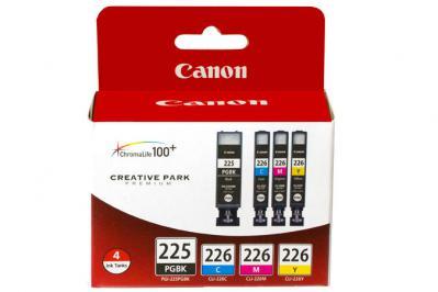 Canon PGI-225/CLI-226 4 Color Ink Pack