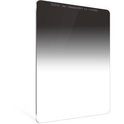 Haida 100mm Red Diamond Soft Edge Graduated ND 1.2 (4-Stop) Filter