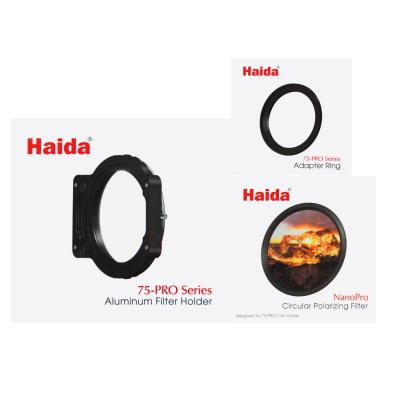 Haida 52mm 75-Pro NanoPro Circular Polarizer Filter Kit