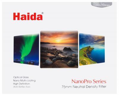 Haida 75mm NanoPro ND 3.0 10 Stop Filter