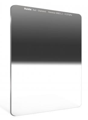 Haida 75mm Red Diamond Reverse Graduated ND 1.2 (4-Stop) Filter