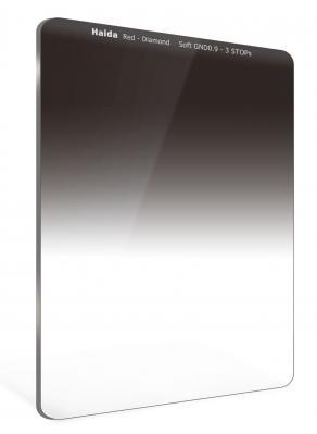 Haida 75mm Red Diamond Soft Edge Graduated ND 0.9 (3-Stop) Filter
