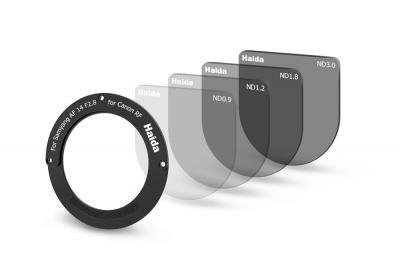 Haida Rear Lens ND Filter Kit for Samyang AF 14mm F2.8 RF Lens for Canon RF