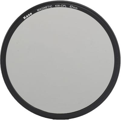 Kase 67mm Wolverine Magnetic Circular Polarizer Filter with 67mm Lens Adapter Ring