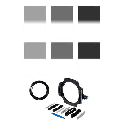 Lee Filters LEE100 Graduated Neutral Density Filter Kit with 82mm Wide Angle Adapter Ring