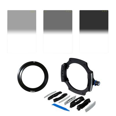 Lee Filters LEE100 Introductory Landscape Kit with 82mm Wide Angle Adapter Ring