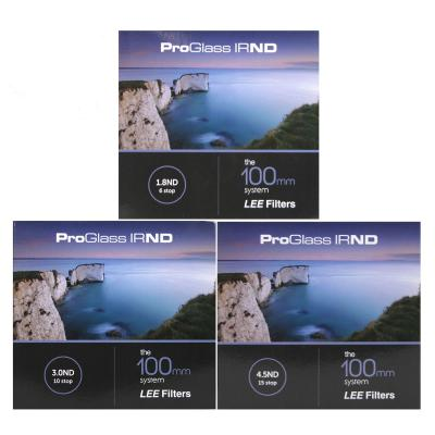 Lee Filters 100mm ProGlass IRND 6, 10, and 15 Stop Filter Kit