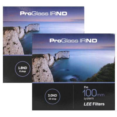 Lee Filters 100mm ProGlass IRND 6 and 10 Stop Filter Kit