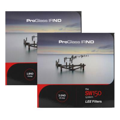 Lee Filters SW150 ProGlass IRND 6 and 10 Stop Filter Kit